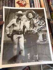 Joe Bowman Signed / Autographed promotional photo / headshot w/ Lone Ranger