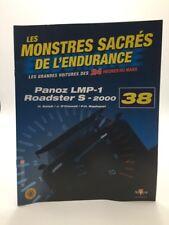panoz lmp-1 roadster s-2000 altaya 1/43 voiture miniature n38 / 80 + fascicule