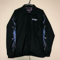 RIPNDIP MENS WINDBREAKER SIZE M GENUINE USED FREE HIPPING FROM JAPAN BLACK COLOR
