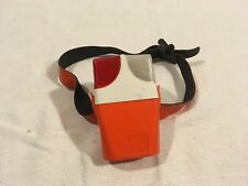 Wonder Orange White Adjustable Safety Walking Armband Clear / Red Lens Light