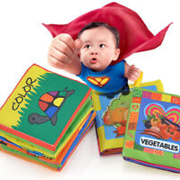 Creative Intelligence Development Cloth Bed Cognize Book Educational Toy For Kid