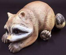 Vintage R. J. Brown Raccoon Figurine, 1978, Matte Porcelain, Adorable