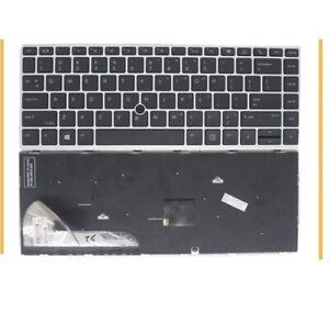 Genuine HP EliteBook 745 G5 840 G5 US Keyboard L14379-001 L11309-001