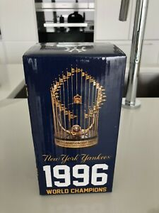 1996 world champions replica trophy