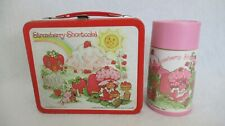 VINTAGE STRAWBERRY SHORTCAKE LUNCHBOX W/ THERMOS BY AMERICAN GREETINGS CORP.