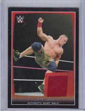 John Cena 2015 Topps WWE Road To Wrestlemania Shirt Relic / Memorabilia card
