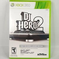 DJ Hero 2 (Microsoft Xbox 360, 2010) Complete. Tested Working