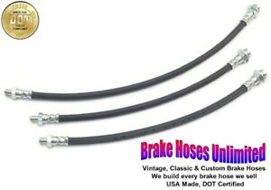 BRAKE HOSE SET Hudson Jet Six & Super Jet 1953