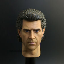1/6 Scale Braveheart Mel Gibson Headplay William Wallace Head Sculpt