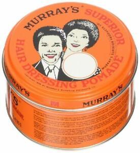 MURRAY'S SUPERIOR ~ HAIR DRESSING POMADE ~ BRAND NEW TIN