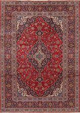 8'x11' Excellent Floral Ardakan Area Rug Handmade Oriental Traditional Carpet