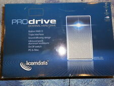 acomdata prodrive external hard drive for two sata hdd enclosure model 550