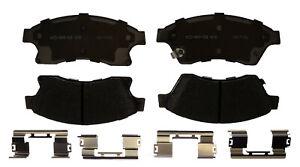 Disc Brake Pad Set-Ceramic Disc Brake Pad Front ACDelco Advantage 14D1522CHF1