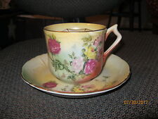 New listing antique mustache cup and saucer