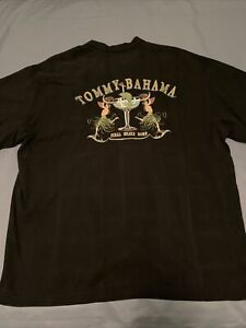 Mens Tommy Bahama Embroidered Shirt. Size XXL. Excellent Cond.