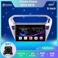Radio pantalla táctil navegador GPS reproductor Android CITROEN ELYSEE 2014-2018