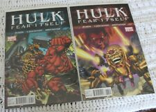 Fear Itself Hulk 37 and 38 Tie In Complete VF/NM Marvel