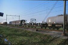 N1227 - Dia slide 35mm original Eisenbahn Holland, NS Güterwagen, '80s