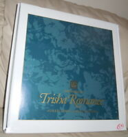 The World of TRISHA ROMANCE Collectors Edition STORYTELLER Signed Print Book