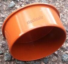 Underground Drainage 110mm Socket plug new