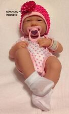 NEW~ Precious Preemie Berenguer La Newborn Doll + Extras MAGNETIC PACIFIER