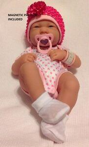 NEW~ Precious Preemie Berenguer La Newborn Doll + Extras MAGNETIC PACIFIER
