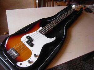 Einsteiger Bassgitarre Bass VGS mit Tasche neu aus Ladenauflösung bass guitar