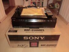 Sony bdp-s5000es haut de gamme Blu-ray-Player, ovp&neu, 2 ans de garantie