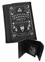 Ouija Board Billetera Hombre Negro Piel Sintética / Regalos para / Oculto/Magia