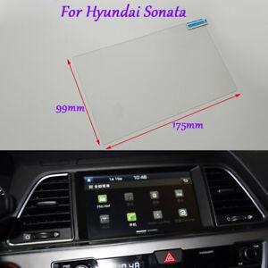 8 inch Car GPS Navigation Screen HD Glass Protective Film For Hyundai Sonata