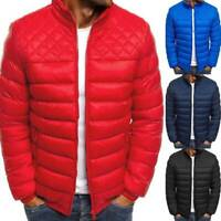 Men's Winter Puffer Bubble Down Jacket Coat Lightweight Quilted Padded Outwear