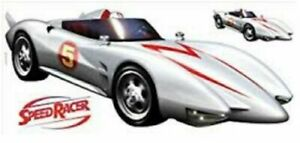 Room Speed Racer Mach 5 Peel Stick Giant Wall Decal Toy Hobby Vehicle Sport Play