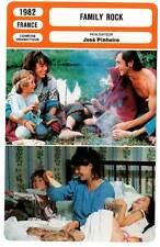 FICHE CINEMA : FAMILY ROCK - Orcier,Malavoy,Robert,Pinheiro 1982