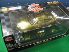 NIB-NASCAR RC #99 Jeff Burton 24K Gold Diecast 1:24 Car.....................SALE