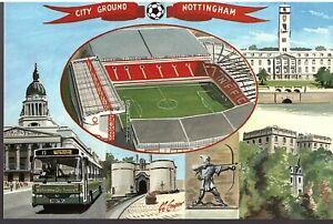 Nottingham Forest Postcard - City Ground - No.4 - Dawn Postcards - FREE POSTAGE