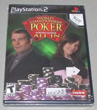 World Championship Poker for Playstation 2 Brand New! Factory Sealed!