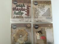 Sizzix - Tim Holtz - Alterations Collection Thinlits Die - YOU PICK NEW