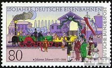 FRD (FR.Germany) 1264 (complete issue) FDC 1985 German. Railway