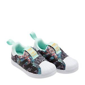 Adidas B75616 BLUE toddler Superstar 360 I baby shoes