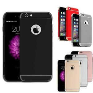 Ultra-Thin Case For Apple iPhone 5 6S 7 Plus Luxury Shockproof Armor Back Cover