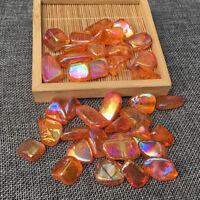 Titanium Crystal Tumble Stone Angel Aura quartz Gravel Healing Reiki 50g