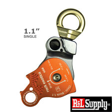 Rock Exotica Omni-Block 1.1 Pulley single sheave block for 1/2 inch Rope 23Kn