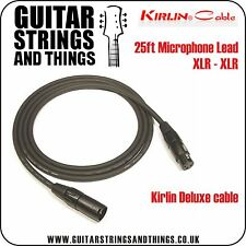 Kirlin 25ft Deluxe Microphone Cable XLR-XLR