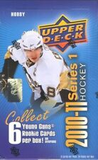 2010-11 Upper Deck Hockey Series 1 Unopened Hobby Box (6 Young guns🔥🔥🔥🔥🔥🔥)