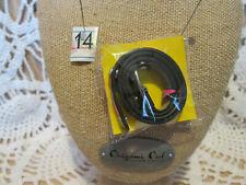 "(lot-10) Origami Owl Argyle Double Genuine Leather Wrap Bracelet 6"" to"