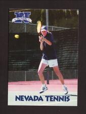 Nevada Wolf Pack--1998-99 Tennis Pocket Schedule--Danka