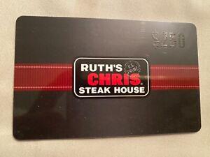 Ruth's Chris Steak House gift card $250