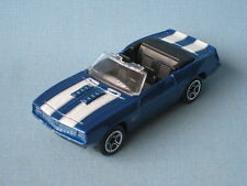 Matchbox 1969 Camaro SS-396 Blue Body Convertable Toy Muscle Model Car UB