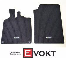 Smart Fortwo forfour 453 terciopelo felpudos set 4 piezas negro a4536801804