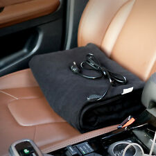 Car Electric Heated Blanket 12V Fleece Winter Warm Blanket Heater